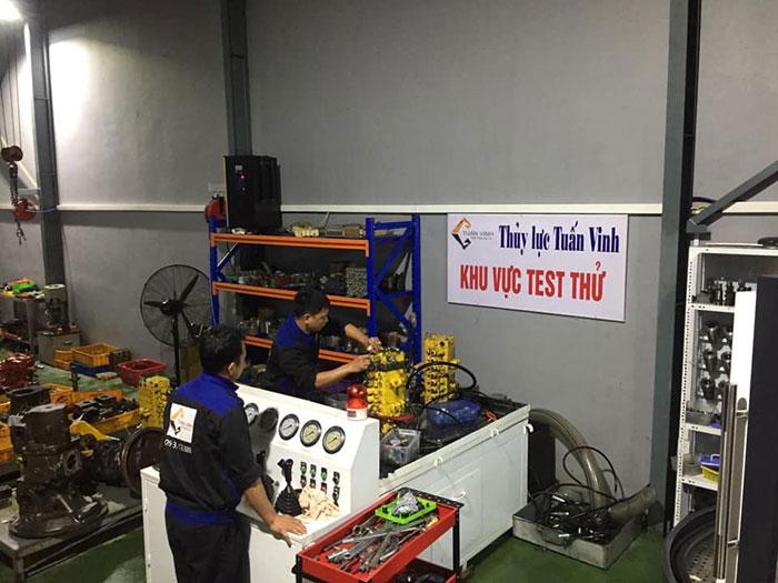 Test thử ngăn kéo tại xưởng